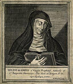 A kristálygyógyászat története Hildegard_von_Bingen