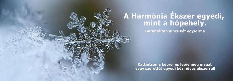 Harmónia Ékszer egyedi hópehely