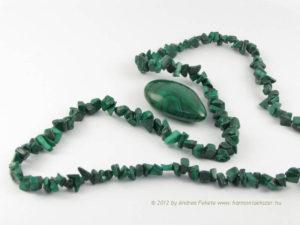Gyógyító kövek - malachit